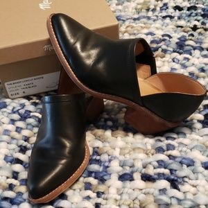 Madewell Lowcut Leather Bootie